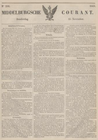 Middelburgsche Courant 1869-11-25