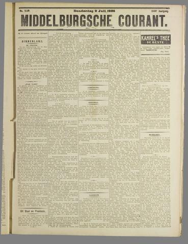 Middelburgsche Courant 1925-07-09