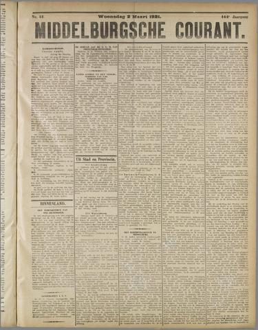 Middelburgsche Courant 1921-03-02
