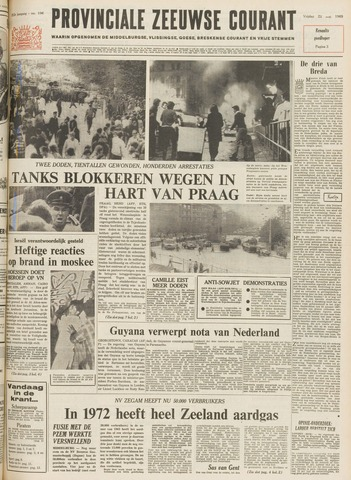 Provinciale Zeeuwse Courant 1969-08-22