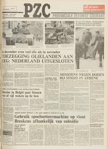 Provinciale Zeeuwse Courant 1973-11-19