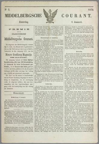 Middelburgsche Courant 1872-01-06