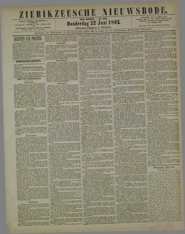Zierikzeesche Nieuwsbode 1893-06-22