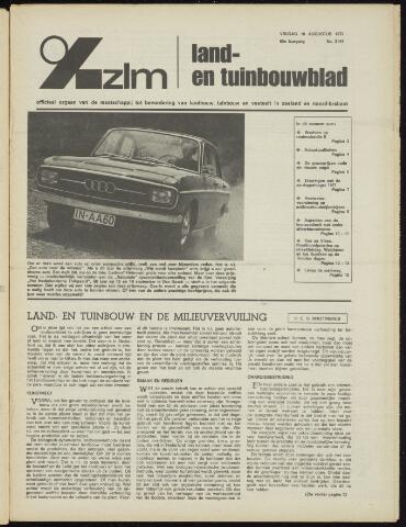 Zeeuwsch landbouwblad ... ZLM land- en tuinbouwblad 1972-08-18