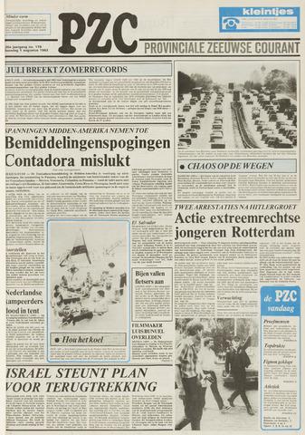 Provinciale Zeeuwse Courant 1983-08-01