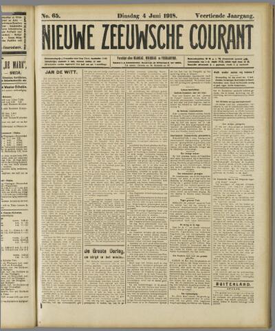 Nieuwe Zeeuwsche Courant 1918-06-04