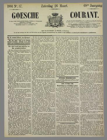 Goessche Courant 1881-03-26