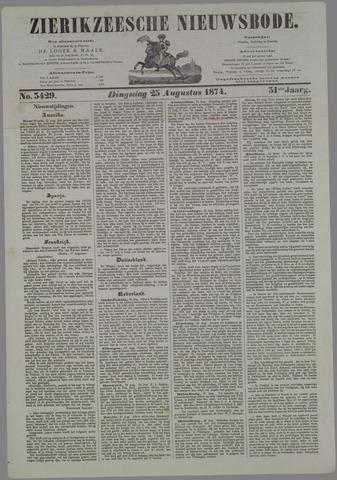 Zierikzeesche Nieuwsbode 1874-08-25