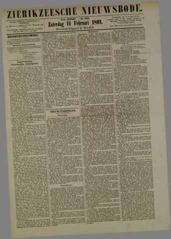 Zierikzeesche Nieuwsbode 1891-02-14