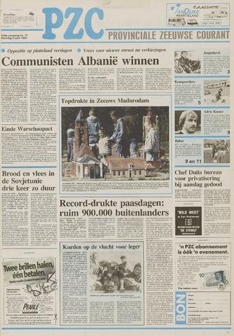 Provinciale Zeeuwse Courant 1991-04-02