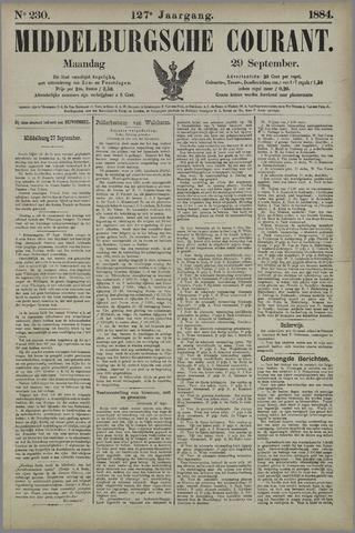 Middelburgsche Courant 1884-09-29