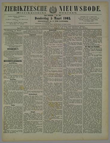 Zierikzeesche Nieuwsbode 1903-03-05