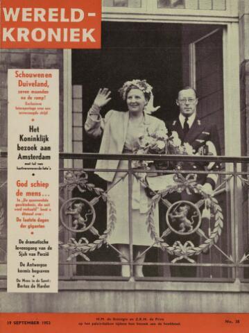 Watersnood documentatie 1953 - tijdschriften 1953-09-19