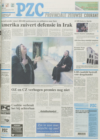 Provinciale Zeeuwse Courant 2003-05-24