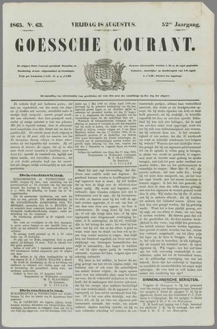 Goessche Courant 1865-08-18