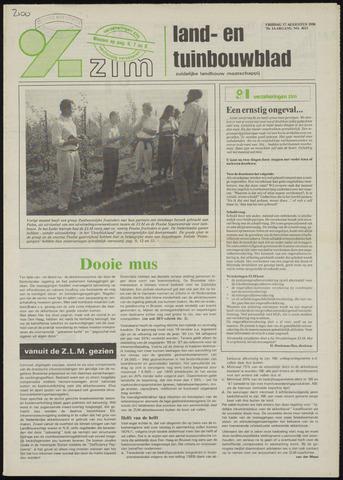 Zeeuwsch landbouwblad ... ZLM land- en tuinbouwblad 1990-08-17