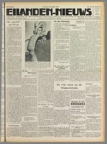 Eilanden-nieuws. Christelijk streekblad op gereformeerde grondslag 1949-11-19