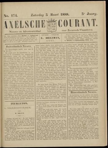 Axelsche Courant 1888-03-03