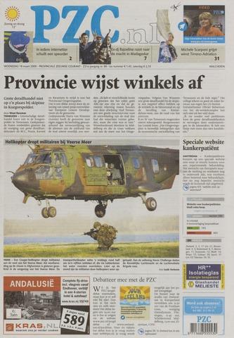 Provinciale Zeeuwse Courant 2009-03-18