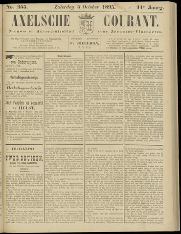 Axelsche Courant 1895-10-05