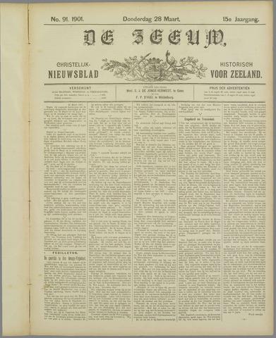 De Zeeuw. Christelijk-historisch nieuwsblad voor Zeeland 1901-03-28
