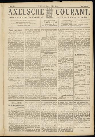 Axelsche Courant 1937-07-20