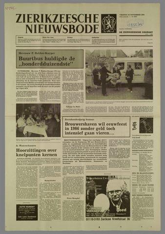 Zierikzeesche Nieuwsbode 1984-11-16