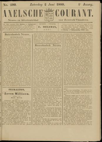 Axelsche Courant 1888-06-02