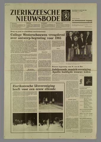 Zierikzeesche Nieuwsbode 1985-01-14