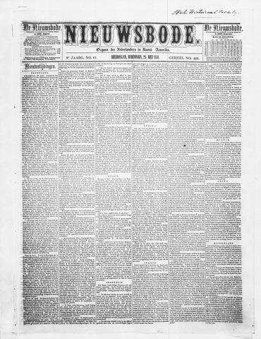 Sheboygan Nieuwsbode 1858-05-25
