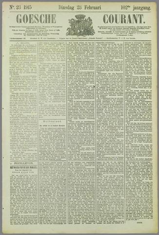 Goessche Courant 1915-02-23