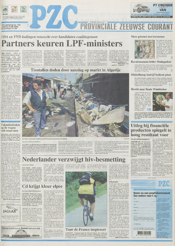 Provinciale Zeeuwse Courant 2002-07-06