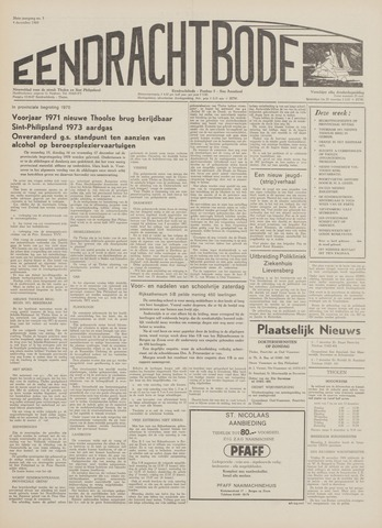 Eendrachtbode (1945-heden)/Mededeelingenblad voor het eiland Tholen (1944/45) 1969-12-04