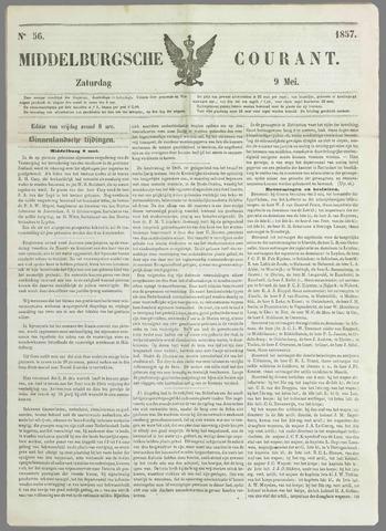 Middelburgsche Courant 1857-05-09