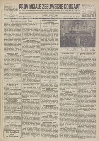 Provinciale Zeeuwse Courant 1941-11-07