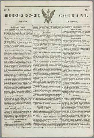 Middelburgsche Courant 1871-01-10