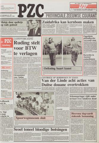 Provinciale Zeeuwse Courant 1988-08-15