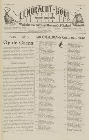 Eendrachtbode (1945-heden)/Mededeelingenblad voor het eiland Tholen (1944/45) 1949-12-30