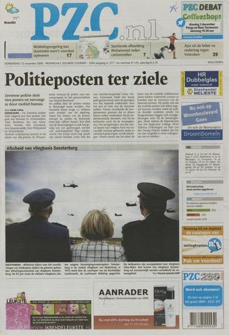 Provinciale Zeeuwse Courant 2008-11-13