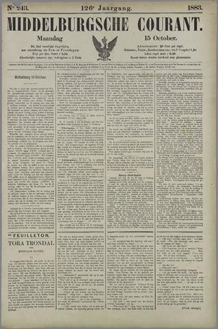 Middelburgsche Courant 1883-10-15