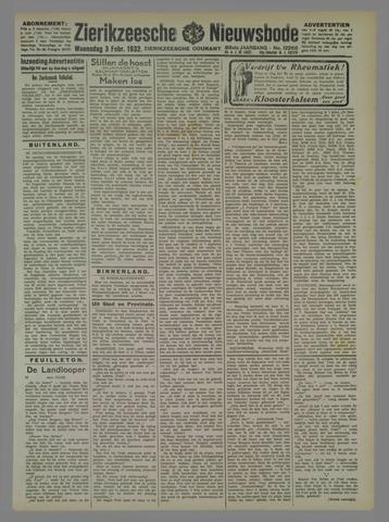 Zierikzeesche Nieuwsbode 1932-02-03