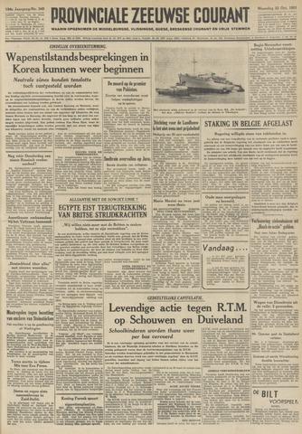 Provinciale Zeeuwse Courant 1951-10-22