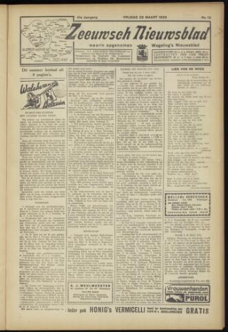 Zeeuwsch Nieuwsblad/Wegeling's Nieuwsblad 1935-03-29