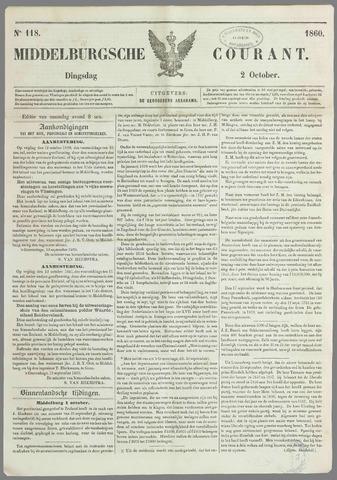 Middelburgsche Courant 1860-10-02