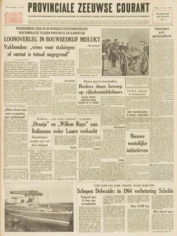 Provinciale Zeeuwse Courant 1964-01-17