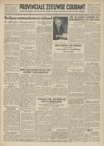 Provinciale Zeeuwse Courant 1949-06-13