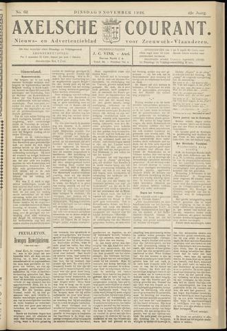 Axelsche Courant 1926-11-09