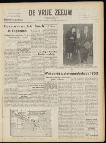 de Vrije Zeeuw 1953-10-09