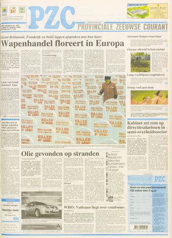 Provinciale Zeeuwse Courant 2003-10-10