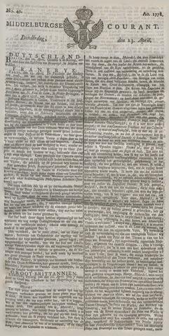 Middelburgsche Courant 1778-04-23
